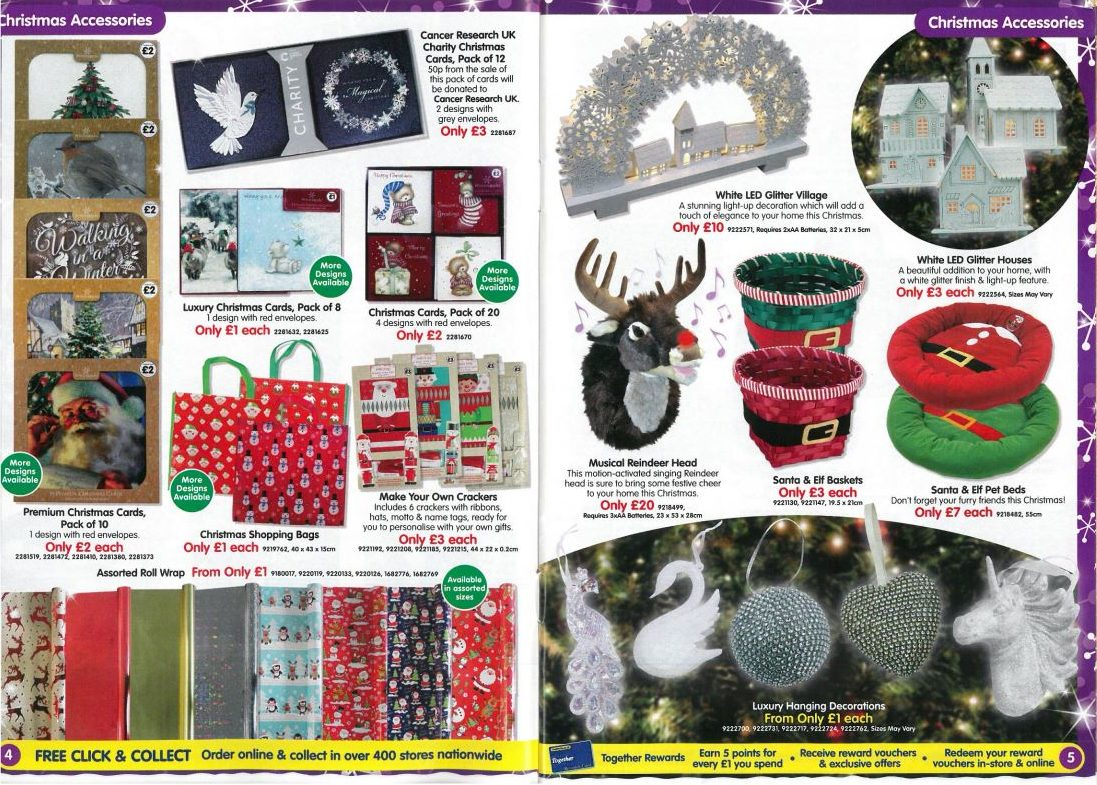 Christmas with the works marketgate shopping centre theres still time to get your christmas decorations bought and put up with the works cards crackers tree hangings and more solutioingenieria Images