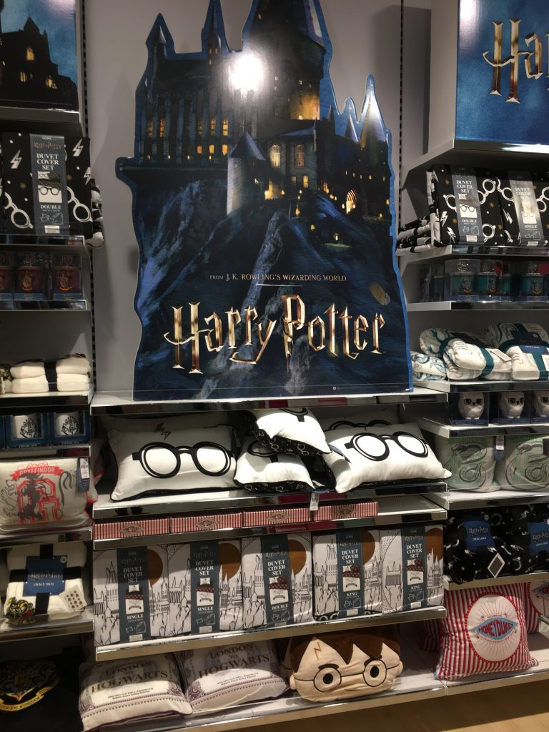 Harry Potter Section In Primark Marketgate Shopping Centre